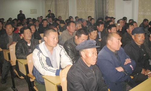 沂水县举办阳光工程村级动物防疫员培训班